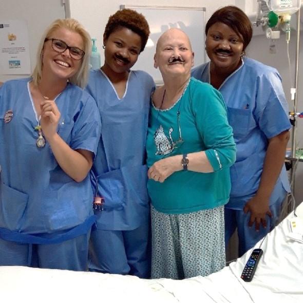 Les équipes mobilisées pour Movember
